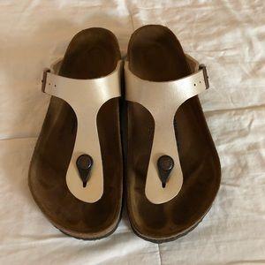 Women's Euro Size 36 Gizeh Birkenstock Sandals